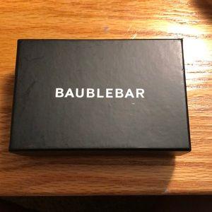 BaubleBar Jewelry - NWT Baublebar Tortoise Hoop Earrings